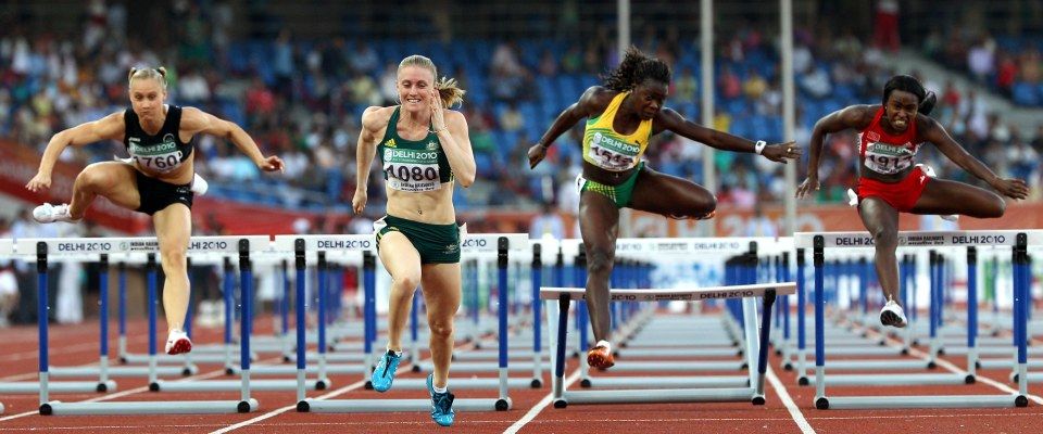 Women's 400m Hurdles Semi-final 1