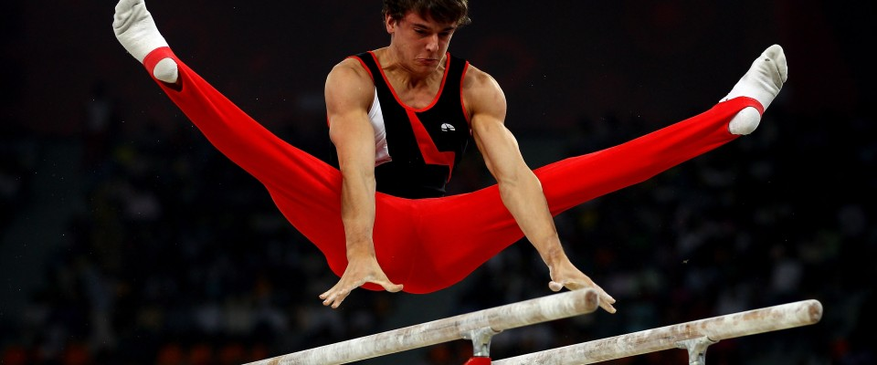 Men's Parallel Bar Qualification
